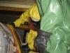 Träger von Chemikalienschutzanzügen - Bild 1