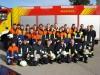 Die Teilnehmerinnen und Teilnehmer des 59. Landkreislehrganges in Esting mit einem Teil der Ausbilder