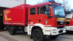 Gerätewagen Dekon P1