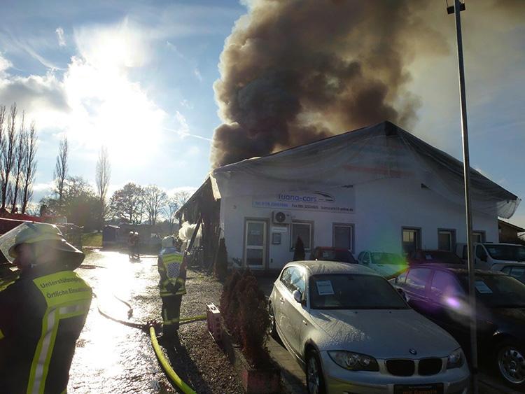 Großbrand Puchheim, Bild 2