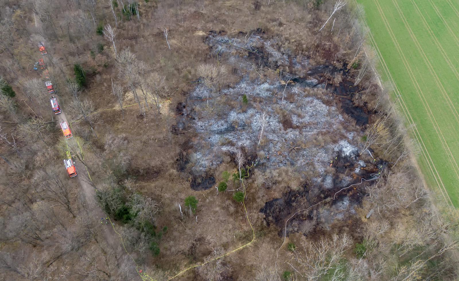 Waldbrand Unterpfaffenhofen