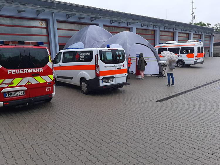 Pop-Up Impfzentrum in Eichenau, Bild 3