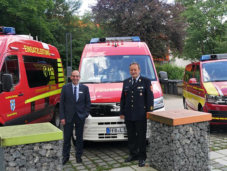 Feuerwehr erhält Gesundheitspaket
