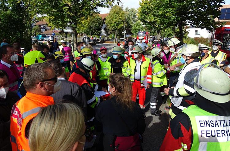 Katastrophenschutzübung 2021 - 09 Lagebesprechung